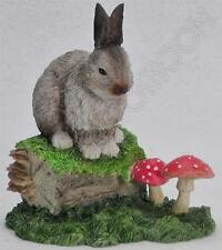 Leonardo Rabbit - British Wildlife Figurines by Macneil Studios