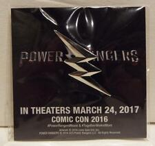 Rare SDCC 2016 Official  POWER RANGERS  Promotional Movie Pinback Button