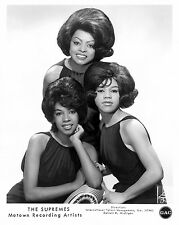 "Diana Ross and the Supremes 10"" x 8"" Photograph no 1"