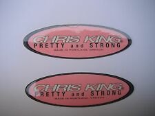 Chris King Bicycle Bike Components Decals Stickers Pink Original Free Shipping!!