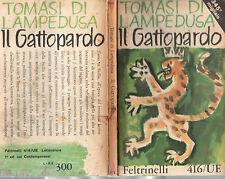 TOMASI DI LAMPEDUSA=IL GATTOPARDO=IX° EDIZIONE 1963=ED.FELTRINELLI
