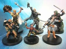 Dungeons & Dragons Miniatures Lot  Balanced Player Character Party !!  s95