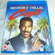 BEVERLY HILLS COP TRILOGY Brand New 3 Movie BLU-RAY Collection II III 1-3 1 2 3