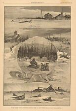 Canada, Winter Scenes In The Northwest, Northern Shore Of Lake Superior, 1883