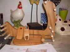 Very nice Rustic Compact Tote-A-Long Inkle Loom /Tools/Instructions