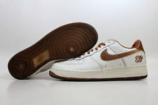 Nike Air Force I 1 Low White/Pecan Year Of The Monkey 306901-121 Men's SZ 10.5