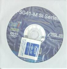 ORIGINALE Asus Scheda madre driver CD DVD p5g41-m si Windows XP 7 vista Sticker WIN