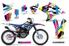 Yamaha Graphic Kit AMR Racing Bike Decal TTR 230 Decal MX Parts 2005-2015 FLSHBK