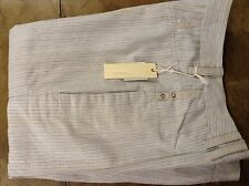 DIESEL trousers womens, wide leg, tailored, oatmeal colour, size 27' 34L
