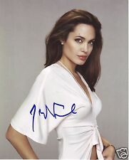 ANGELINA JOLIE AUTOGRAPH SIGNED PP PHOTO POSTER