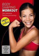 DVD  -  Body Shaping Workout  -  FITNESS