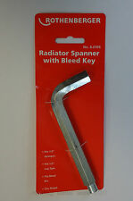 ROTHENBERGER RADIATORE Spanner NO2 con sanguinare chiave 8.0105