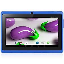 7 pulgadas Q88H Android 4.4 Tablet PC WVGA de 4GB ROM cámaras duales Azul SES