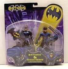 * BATMAN / BATMAN & NIGHTWING / Action Figure Mattel 2003 FACTORY SEALED *