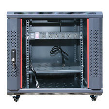 "12U 35"" Deep Server IT Network Enclosure Rack Cabinet FITS MOST SERVER EQUIPMENT"