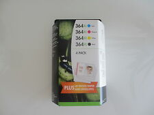 ORIGINAL Triplepack  3 x4 INK -C  J3M83AE VALUE PACK  2x PACK C+Y+M+BK HP 364XL