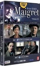 15745 // COLLECTION MAIGRET BRUNO CREMER N°23 COFFRET 2 DVD NEUF SOUS BLISTER