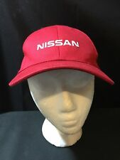 Port & Company NISSAN Red Youth Size Velcro Hat Cap Race Racing