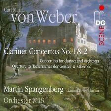 Clarinet Concertos No. 1 & 2 & Concertino Overture, New Music