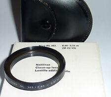 Nahlinse--Close up  43mm Nizo  NL 362 mit Etui