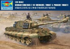 ◆Trumpeter 1/16 00910 German Kingtiger 2in1 (Henschel Turret) Model Kit
