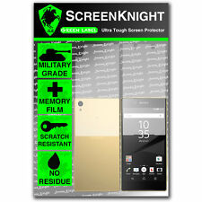 ScreenKnight Sony Xperia Z5 FULL BODY SCREEN PROTECTOR invisible military shield
