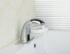 Automatic Electronic Sensor Faucet Hands Free Bathroom  Touchless Mixer Tap