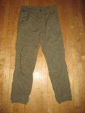 The North Face VTG Green Travel Causal Rayon Nylon Pants  Men's M/ 36 x32  DA9
