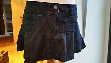 Looks New Ladies Lady's Womens Mini Denim Hip Skirt + Pockets Sz 10 2 by True2U