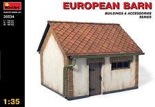 Miniart 1/35 European Barn # 35534