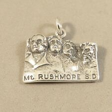 .925 Sterling Silver MT RUSHMORE CHARM NEW Pendant National Memorial 925 TR105