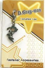 D.Gray-Man Lenalee Fastener Metal Charm Anime Manga Game MINT