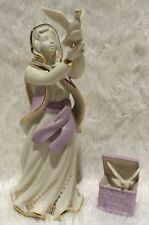 LENOX FIRST BLESSING DOVE SELLER Nativity sculpture set NEW in BOX