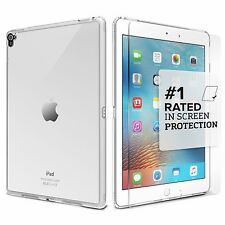 "iPad Pro 9.7"" Case SaharaCase® Clear Protective Kit + Tempered Glass Crystal"