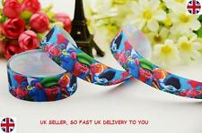"""1m TROLLS Grosgrain Ribbon 22mm 7/8"""" wide - USE FOR BOWS, CAKES, CRAFTS"""