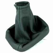 FITS FORD MONDEO MK3 03-06 REAL ITALIAN LEATHER GEAR SHIFT BOOT GAITER GREEN ST