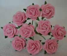50 LIGHT PINK ROSE (1 cm) Mulberry Paper for weddings crafts cardmaking