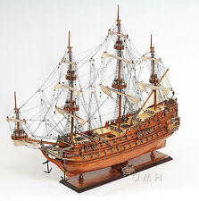 "Dutch De Zeven Provincien Wooden Tall Ship Model 36"" Boat New"