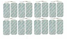 PACK OF 16 QUALITY LARGE TENS ELECTRODE PADS FOR TENS MACHINES REUSABLE