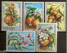 Spain Edifil # 2254/2258 ** MNH Set. Flores / Flowers