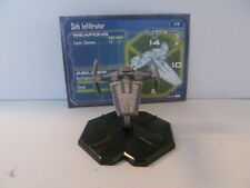Star Wars Mini - Sith Infiltrator - Starship Battles Miniature - Light Wear