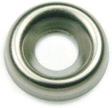 Stainless Steel Finishing Cup Washer #8, Qty 100