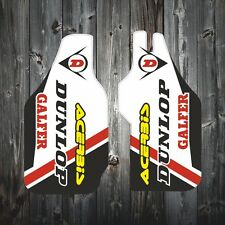 Honda CRF 250 Lower Fork Guard Decals Stickers 2004-2009