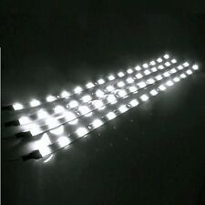 "4PCS 12"" Flexible 12V Waterproof LED Strip Underbody Light Motorcycle Car Truck"