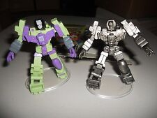 Takara Transformers G1 SCF PVC Act 5 lot Devastator, painted and pewter chase