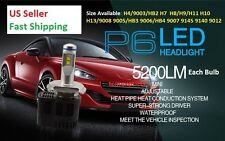 6000K 110W 10400LM Kit Philip Chips LED Headlight Bulbs H4 H7 9007 9008 9003 H13