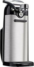 Electric Can Opener Stainless Steel Kenmore Best Silver Commercial Kitchen Tools