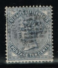 Straits Settlements SG# 49, Used, Watermark CC - Lot 07262015