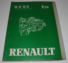 Werkstatthandbuch Renault Wechselgetriebe Wechsel Getriebe S5 - 18/3 Mai 1981!
