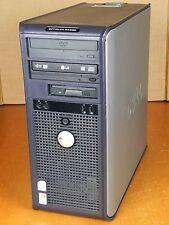 PC DELL Intel Pentium D915 2.8Ghz Dual Core HD 250GB Sata RAM 3GB DVD-RW Win 7